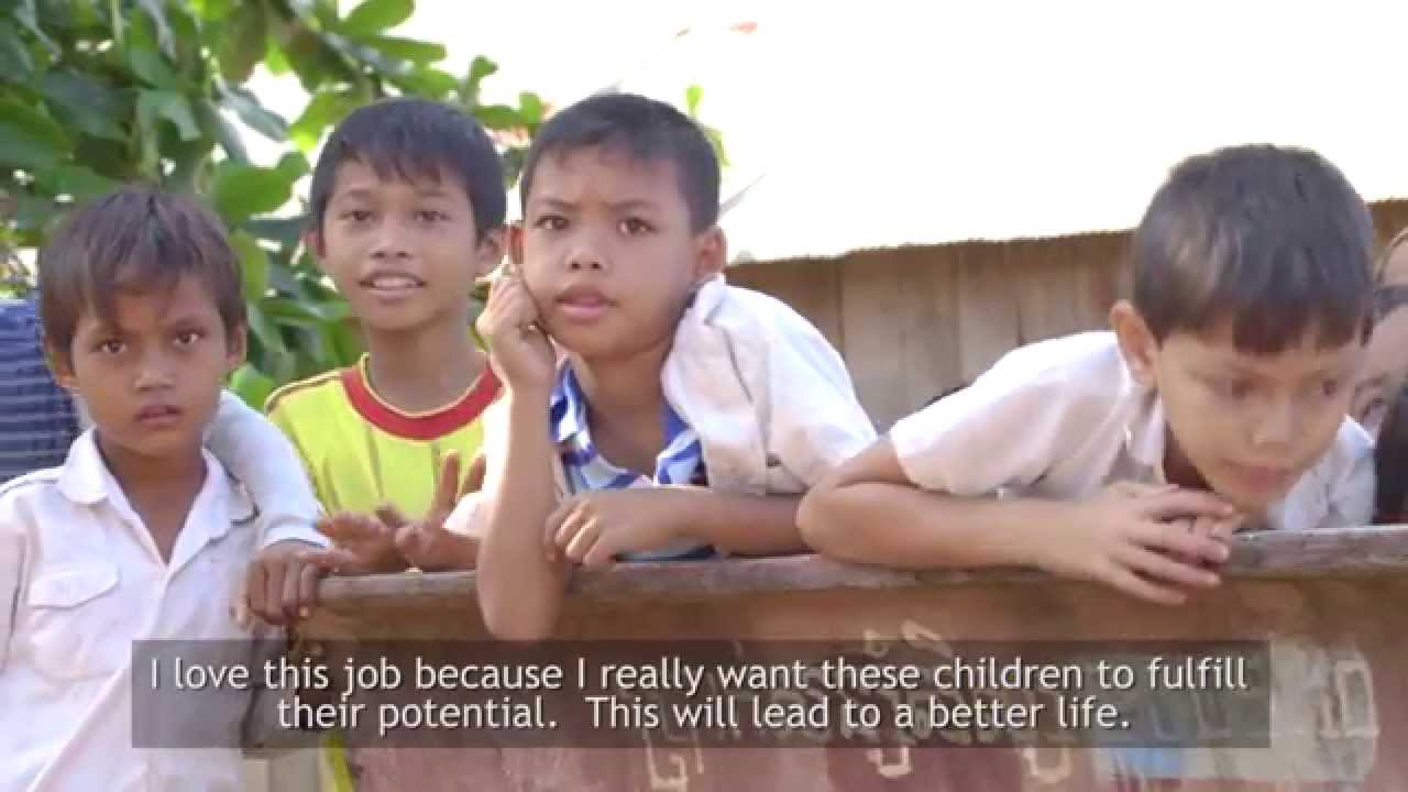 Recovery of the education sector in Cambodia
